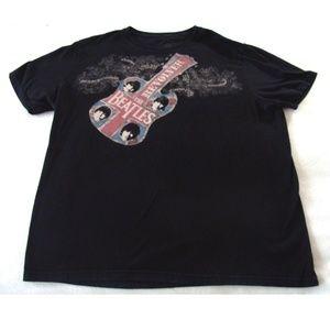Nice Beatles Revolver t shirt Lucky brand xxl top
